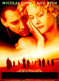 Year: 1998. Stars: Nicolas Cage, Meg Ryan. Title?