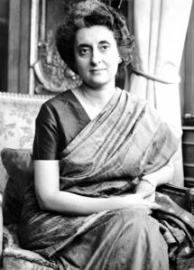 What year was Prime Minister, Indira Ghandi, assasinated