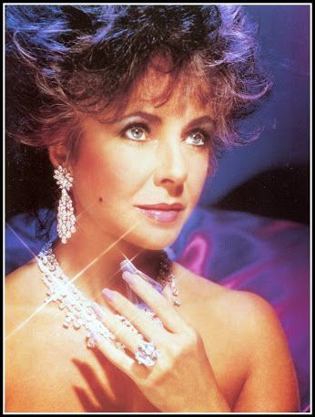 Promo Ad for Elizabeth Taylor's 1987 debut launch of Passion