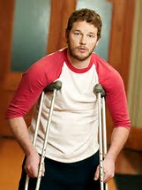 How many episodes was Chris Pratt (Andy Dwyer) only supposed to be in?