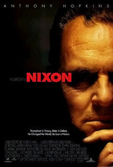 What 年 was presidential film biopic, Nixon, released