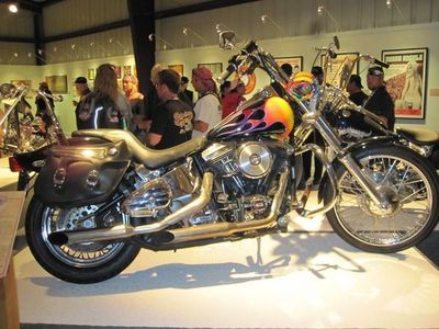 """This is the motorcycle driven by Lorenzo Lamas in the """"'90's"""" series,  Renegade"""