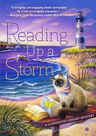 Who writes the Lighthouse biblioteca series?