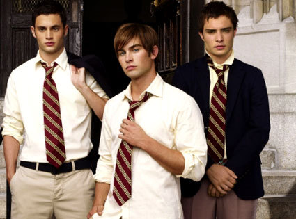 What was the name of the 3 male lead characters on Gossip Girl, also known as the Gossip Guys?