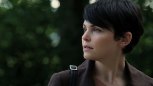 What kind of bird did Mary Margaret come across in the woods in 1x10?