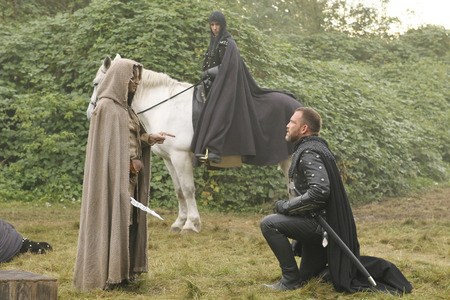 What name did the guard in 1x08 call Rumple?