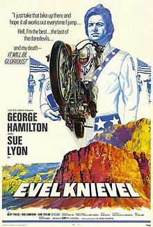 What năm was the film, Evel Knievel, released