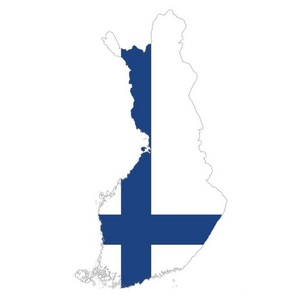 Which country does Finland share its longest land border with?