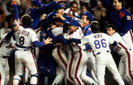 What year did the New York Mets win the World Series