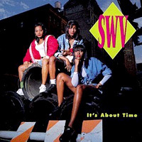 What tahun was SWV's debut album, It's About Time, released