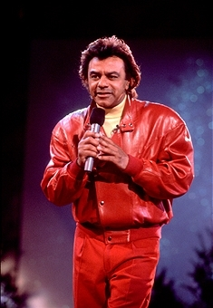What year did Johnny Mathis make an appearance on The Oprah Winfrey show