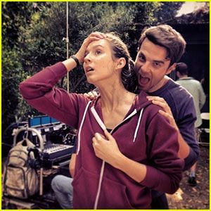 Who is the actor with Troian Bellisario (Spencer)