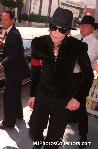 Michael Jackson was in attendance at Princess Diana's Memorial service back in 1997