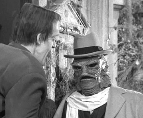 What is the name of The Munsters' amphibious uncle?