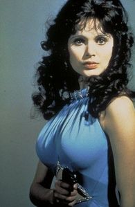 Madeline Smith portrayed Miss Caruso in the 1973 Bond film, Live And Let Die