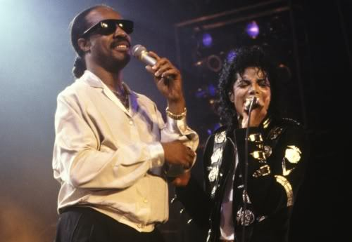 What song is Michael Jackson and Stevie Wonder canto