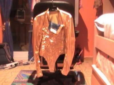 This is the custom-made stage costume Michael wore on the Dangerous tour