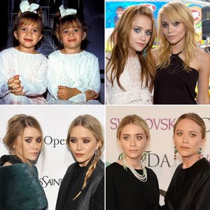 What age did Mary-Kate and Ashley become producers?