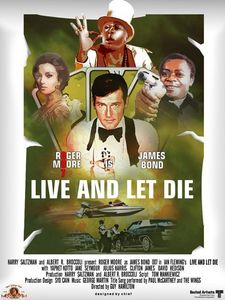 """Live And Let Die was released at the height of the""""'70's"""" Blaxplortation film genre in 1973"""
