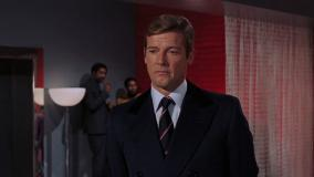 As a voice actor, Sir Roger Moore was the radio announcer in the 1997 film,  The Saint