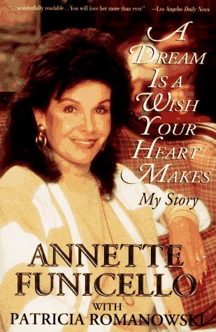 What Jahr was former Mouseketeer, Annette Funnicello's, autobiography published