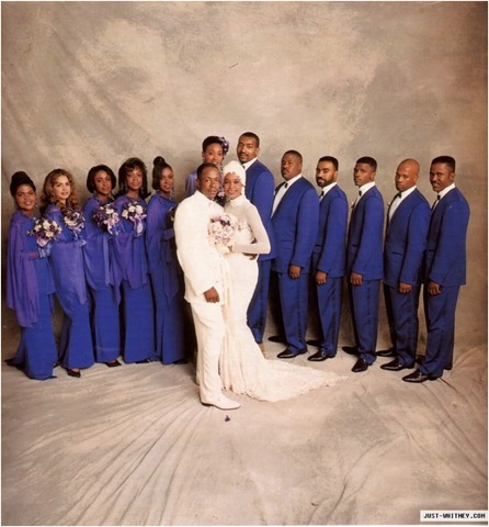 What 年 were Whitney and Bobby Brown married