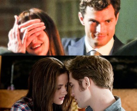 How many characters from both Fifty Shades AND Twilight have the same first name?