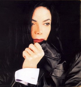 As a model, Michael Jackson did a photoshoot for VIBE magazine back in 1995