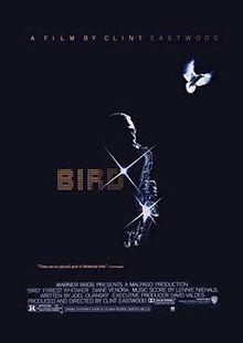 What jaar was the film biopic, Bird, released