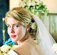 How many times has Emily put on a Wedding Dress for a role in her career so far?
