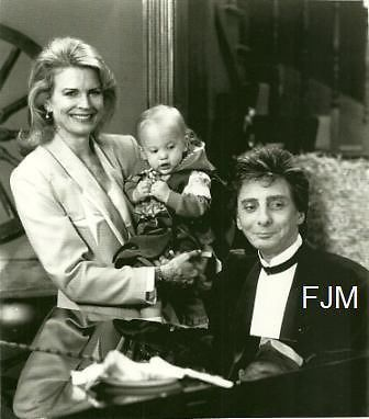 What year did Barry Manilow make a guest appearance on Murphy Brown