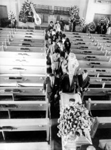 Jimi Hendrix 's funeral back in 1970