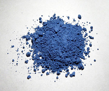 The historical pigment known as 'Ultramarine' was originally made par grinding which gemstone?