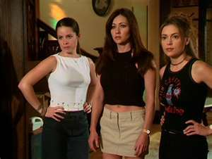 True or False: The name of the woman hired to assassinate The Charmed Ones was named Ms. Hellfire.