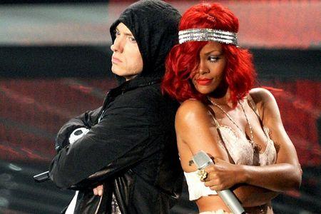 How many songs has he sung with Rihanna?