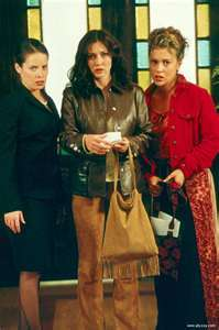What was the name of the episode where Prue, Piper, and Phoebe discovered that Cole was the demon sent to kill them?