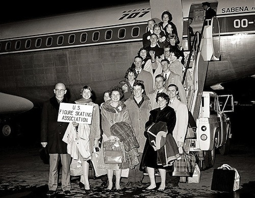 On February 15, 1961, 73 people were killed in a plane crash reroute to Prague