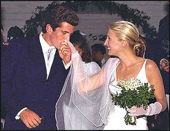 What year did John F. Kennedy, Jr. marry Carolyn  Bessette