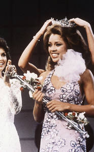 Vanessa Williams was the first African-American to be crowned Miss America