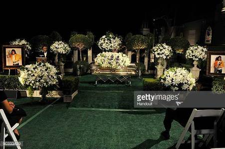Michael Jackson's funeral back in 2009