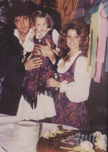 """Lisa Marie's """"5th"""" birthday party back in 1973"""