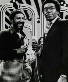 What year did Marvin Gaye make a guest appearance on Soul Train