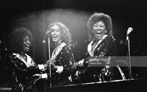 Lady Flash was a backing trio for Barry Manilow during the mid-70's
