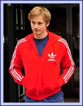 Finish this sentence. Bradley James simply likes to ride his ...