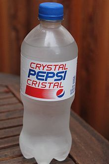 Launched in 1992, Crystal Clear Pepsi was sold nationwide back in 1993