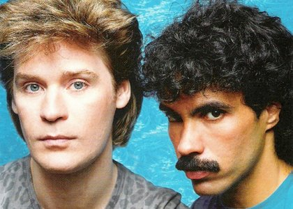 Maneater was a #1 bit for Hall and Oates in 1982
