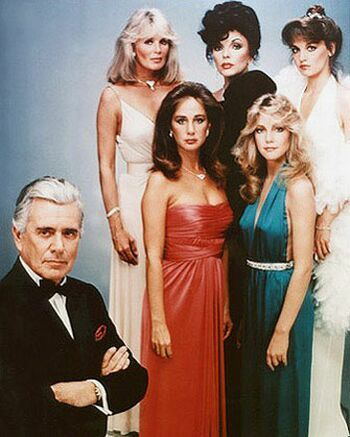 What world famous TV soap opera is this group portrait from?
