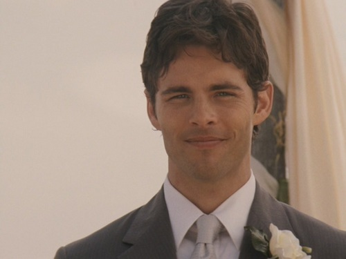 What was James Marsden's character's name in 27 Dresses?