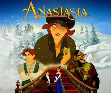 Who voiced the younger anastasia in the animated movie 'Anastasia' ?