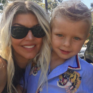 When was Fergie's son, Axl Jack Duhamel born?